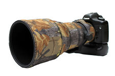 Sigma 300mm F2.8 Néoprène Lentille Protection Camouflage Housse Chêne Anglais