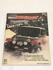 JC Whitney Jeep CJ and Wrangler Auto Parts & Accessories Catalog No. JP1113J