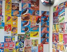 Any 20 Your Choice Of Ice Cream Truck Decal Sticker Blue Bunny Richs And Popsi