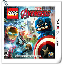 3DS LEGO Marvel's Avengers Action Adventure Nintendo Warner Home Video