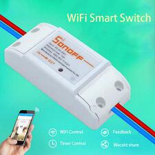 Smart Télécommande WiFi Prise Courant Sans Fil Interrupteur Minuteur Maison Mode