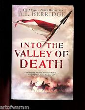 INTO THE VALLEY OF DEATH  - Light Brigade  in Crimea) Berridge  1st HB/dj VG/VG