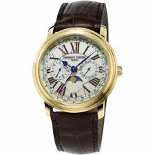 Frederique Constant Classic Mens Business Timer Watch FC-270EM4P5