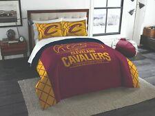 Cleveland Cavaliers King Bedding (Comforter & Shams) Official Nba