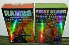 """HOT TOYS RAMBO COLONEL & JOHN RAMBO FULL SET UNREAL NEW SEALED GEMS 12"""" OUT CASE"""