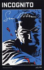 INCOGNITO #1 HC VZA (US 1-6) deutsch BRUBAKER/PHILIPPS Hardcover+signed Artprint