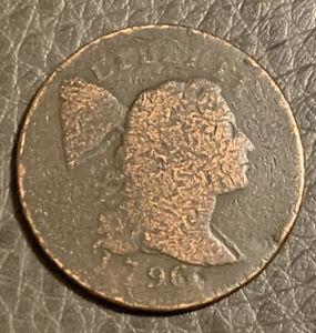 1796 liberty cap large cent