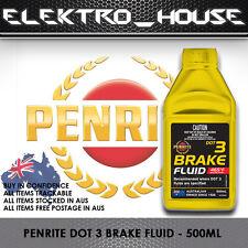 Penrite Dot 3 Brake Fluid DOT30005 500ml