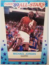 Rare: 1989-89 Fleer Michael Jordan All Star Sticker #3, Bulls, HOF, MJ, Vintage