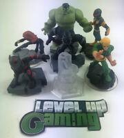 Disney Infinity 2.0 Marvel Figures Hulk, Black Widow, Loki, Black Panther