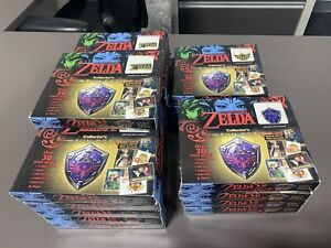 🔥NEW LEGEND OF ZELDA COLLECTOR'S FUN BOX TRADING CARDS 2017 NINTENDO ENTERPLAY