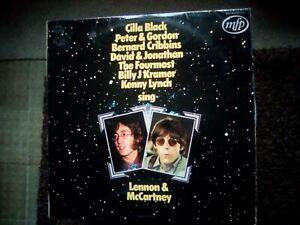 STARS SING LENNON & MCCARTNEY LP. BEATLES RELATED - RECORD UNBELIEVABLE ? MINT )