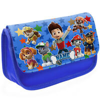 PAW PATROL Pencil Case Childrens School Stationary Bag Personalised Gift