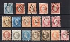 France 1849-1922, nice selection USED/MH F/VF