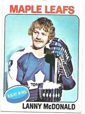 1975-76 Topps Set Break Lanny McDonald Toronto Maple Leafs #23 NM-MT JJD