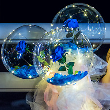 LED Luminous Balloon Rose Bouquet
