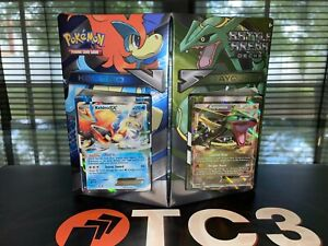 Pokemon TCG Battle Arena Decks Rayquaza EX vs. Keldeo EX - Factory Sealed