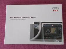 AUDI SAT NAV Sistema de Navegación Plus (RNS-E) Manual. A3 S3 A4 S4 TT (ACQ 6694)