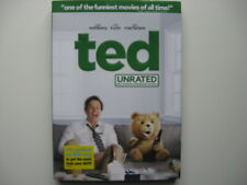 Ted (DVD, 2012, UNRATED)  Mark Wahlberg. Brand New-Sealed. Includes Slipcover