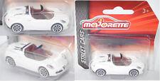 Majorette 212053051 Alfa Romeo 4C Spider, weiß, ca. 1:57, STREET CARS
