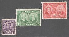CANADA STAMPS #146-148   --- HISTORICAL SET -- 1927  -- UNUSED