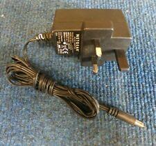 Netgear 332-10080-01  MV12-Y120100-B12 3 Pin UK Plug AC Power Adapter 12W 12V 1A