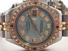Rolex 18k & St.Steel Women's  26mm swiss automatic Two Tone Diamond watch