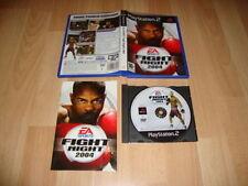 FIGHT NIGHT 2004 JUEGO DE BOXEO DE EA SPORTS PARA SONY PS2 USADO COMPLETO