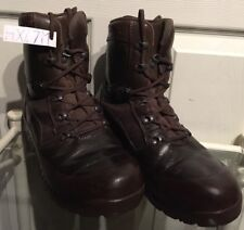 Haix Brown MTP Gore-Tex Waterproof Army Issue Combat Boots 7M HX47M
