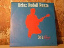"HEINZ RUDOLF KUNZE Dies ist Klaus /Packt sie 7"" SINGLE Vinyl VG+ WEA 248 806-7"