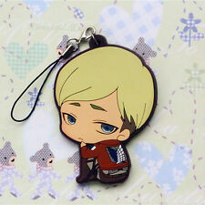 Attack on Titan AOT Recon Corps Leader Erwin Smith Strap Charm Cell Phone Chain
