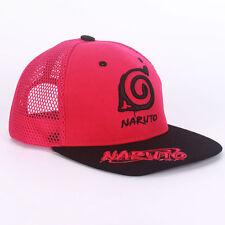 Anime Naruto Konoha Logo Baseball Cap Embroidery Sun Hat Casquette Cosplay Gifts