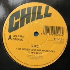 N.R.G. The Hardcore EP Sir Mix-A-Lot Ice-T Willy Wonka Breakbeat 12 Vinyl Techno
