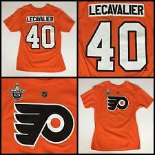 NWOT Men's VINCENT LECAVALIER Philadelphia Flyers Jersey-Style T-Shirt - Large
