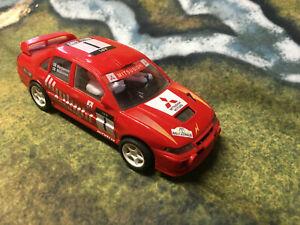 SCX Scalextric 6002 Mitsubishi Lancer Australia 97 Harjanne Mäkinen Slot Car