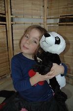NEW Zoobies Blanket / Pillow Pets Animal Childrens Soft Toy Panda Pyjama Case