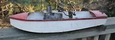 ANTIQUE LIVE STEAM ENGINE BOAT 31""
