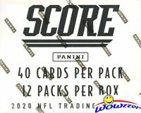 2020 Score Football ENOURMOUS Factory Sealed JUMBO FAT Pack Box-480 Cards-72 RC+