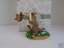 Fitz & Floyd Charming Tails Dean Griff Congraduations Mouse Figurine