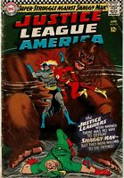 JUSTICE LEAGUE OF AMERICA #45 - 1st Appearance of the Shaggy Man - G/VG