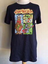COACHELLA BOUTIQUE (2013) NWT Yo Gabba Gabba Artist Parker Jacobs T-Shirt S/L