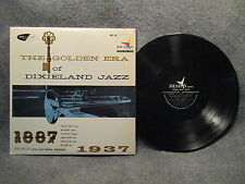 "33 RPM 12"" LP Record The Golden Era Of Dixieland Jazz Design Records DLP 38 VG+"