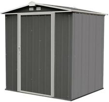 Portable Storage Shed Garden Building House Tool Arrow Ezee Metal Steel Barn