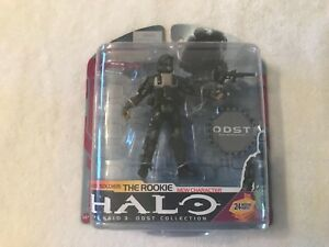 "Halo 3 Series 6 ODST The Rookie 5"" Action Figure McFarlane Toys 2009, New"