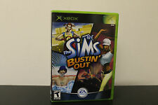 Sims Bustin' Out  (Xbox, 2003) *Tested / Complete