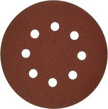 New BOSCH 5-Piece 120 Grit 5 In. 8 Hole Hook-And-Loop SANDING DISCS SR5R120