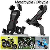 360°Motorcycle Bicycle Bike Handlebar Stand Mount Holder For GPS Mobile Phone