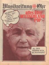 MAGAZINE OOR 1973 nr. 17 - ALLES ÜBER DEUTSCHLAND POP  /SPERMÜLL/POPOL VUH/FAUST