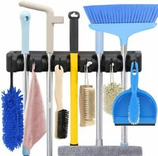 Broom Holder and Garden Tool Organizer Rake or Mop Handles Up to 1.25-Inches AKA