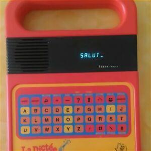 La Dictée Magique Texas Instruments Vintage état comme neuf!
